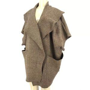 NEW Roffe Accesories Pocket Kimono Cardigan